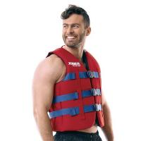 Жилет JOBE 18 Heavy Duty Vest Red