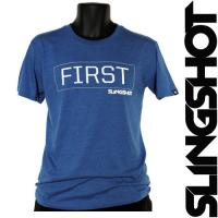 Футболка Slingshot 2015 First Tee Royal Blue