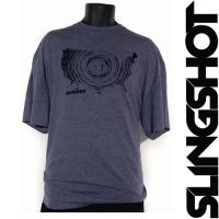 Футболка Slingshot 2015 USA Wood Core Tee Grey