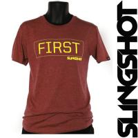 Футболка Slingshot 2015 First Tee Burgundy